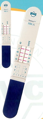OrAlert - oral saliva drug screen test kit